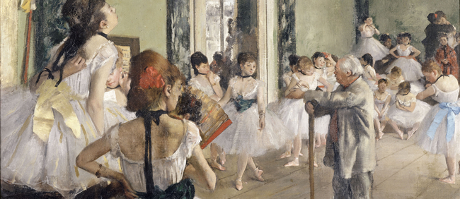 "Exhibition ""Le ballet de l'Opéra"", from 5 June  to  1 September 2013"