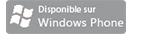 Disponible sur Windows phone